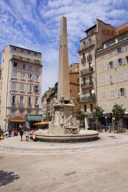 Bild: Brunnen in Marseille, Provence