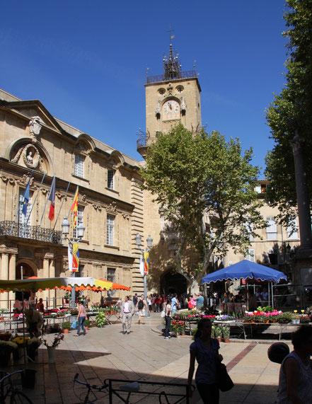 Bild: Hôtel de Ville in Aix-en-Provence