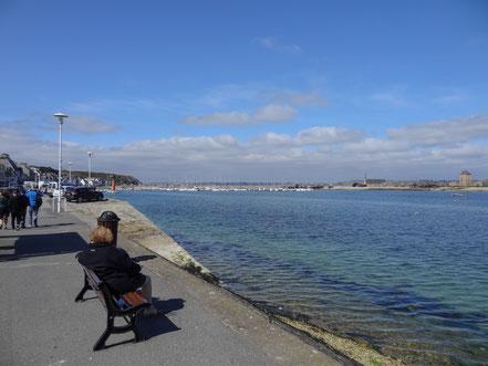 Bild: Hafenpromenade in Camaret-sur-Mer