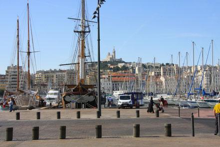 Bild: Am alten Hafen in Marseille