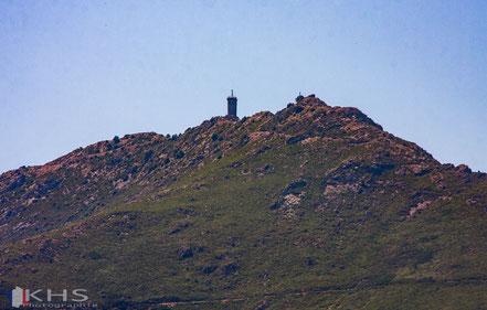Bild: Blick auf den Madeloc-Turm bei Collioure