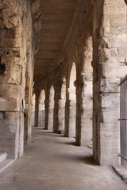 Bild: Im Innern des Amphitheater