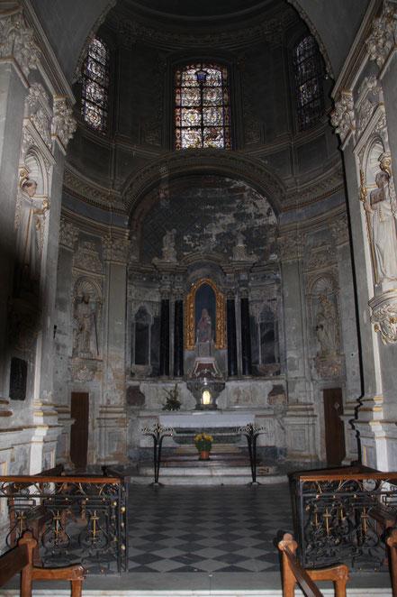 Bild: Seitenkapelle der Cathédrale Saint Sauveur, Aix-en-Provence
