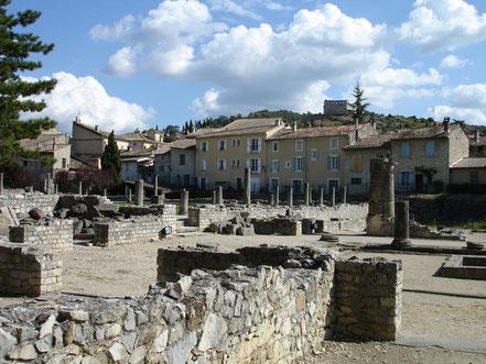 Bild: Das Quartier de la Villasse in Vaison-la-Romaine