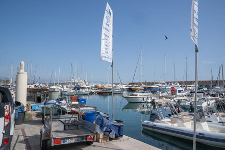 Bild: Port Vauban in Antibes