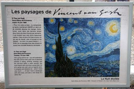 Bild: Rundweg Vincent van Gogh in St.-Remy-de-Provence