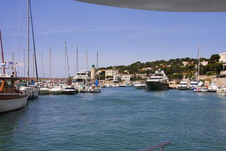 Bild: Hafen in Cassis