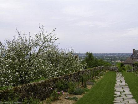 Bild: Jardin des P lantes in Avranches, Normandie