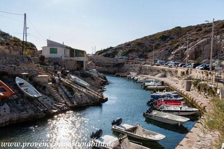 Bild: Callelongue bei Marseille