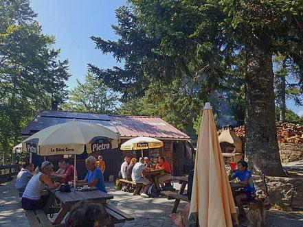 Bild: Wanderung auf Korsika am Col de Verde