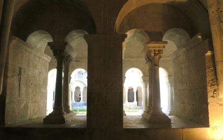 Bild: Abtei Notre-Dame de Sénanque, Kapitelsaal