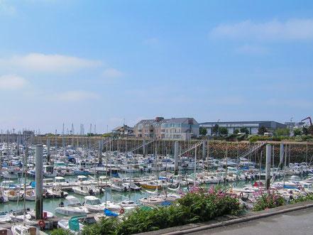 Bild: Granville in der Normandie