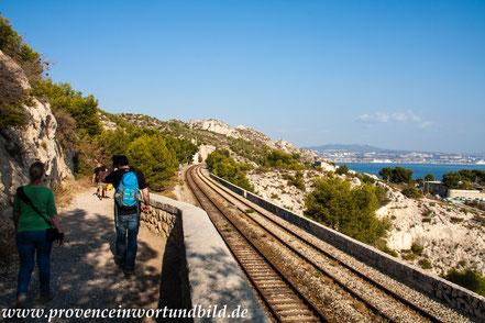 Bild: Wanderung an der Côte Bleue bei Niolon