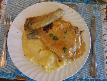 Bild: Poulet de Bresse à la creme