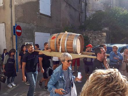 Bild: Winzerfest in Gruissan