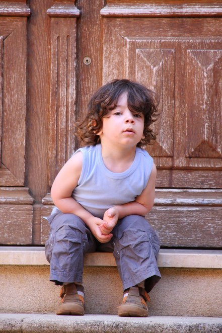 Bild: Junge in Roussillon