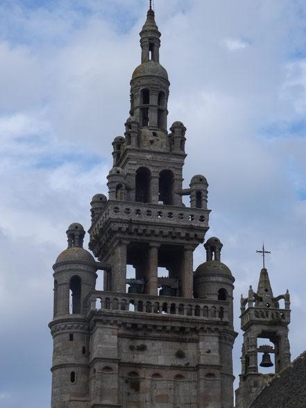 """Bild: Renaissance-Turm der Kirche """"Notre-Dame-de-Kroaz-Baz"""" in Roscoff"""