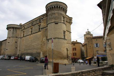 Bild: Château de Gordes, Schloss von Gordes
