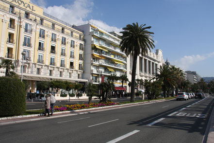 Bild: Promenade des Anglais in Nice (Nizza)