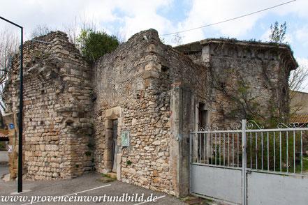 Bild: Caderousse im Vaucluse