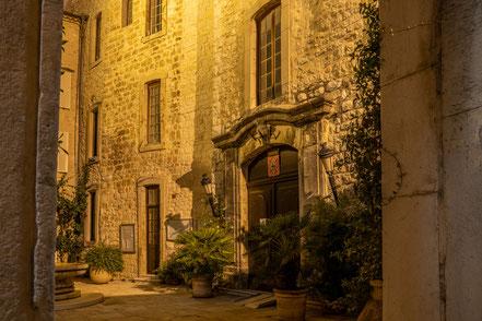 Bild: Tourrettes-sur-Loup mit le Château im Département Alpes Maritimes