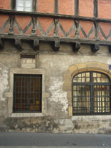 Bild: Fachwerkhaus in der Rue des Marronniers