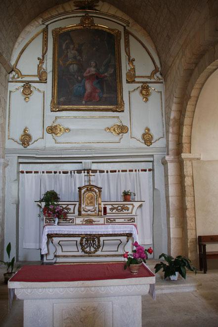 Bild: Kirche Saint Michel in Roussillon