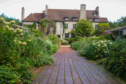 Bild: Parc et Jardins du Bois des Moutiers in der Normandie