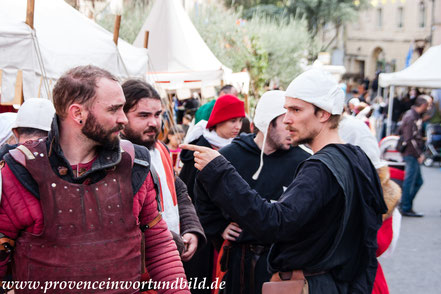 Bild: Fête Médiévales in Castillon du Gard