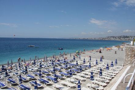 Bild: Nice Strand im Sommer