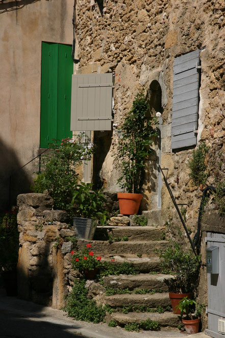 Bild: Treppe in Lourmarin