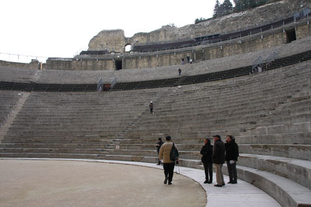 Bild: Amphitheater Orange