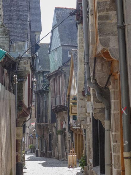 Bild: in der Altstadt von Vitré