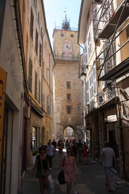 Bild: Aix-en-Provence Tour de l´Horloge