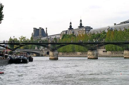Bild: Pont des Artes im Jahre 2005 in Paris