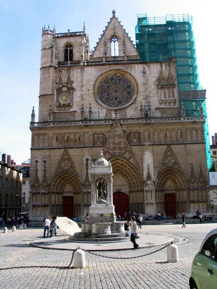 Bild: Cathédrale Saint-Jean-Baptiste in Lyon