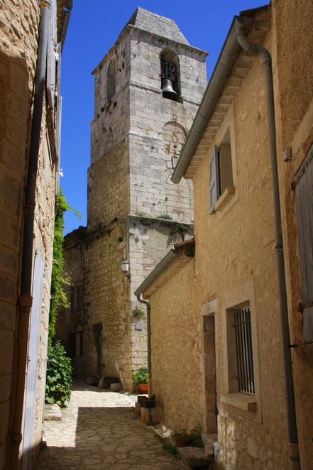 Bild: Glockenturm in Simiane-la-Rotonde