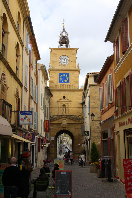 Bild: Port de l´Horloge in Salon-de-Provence