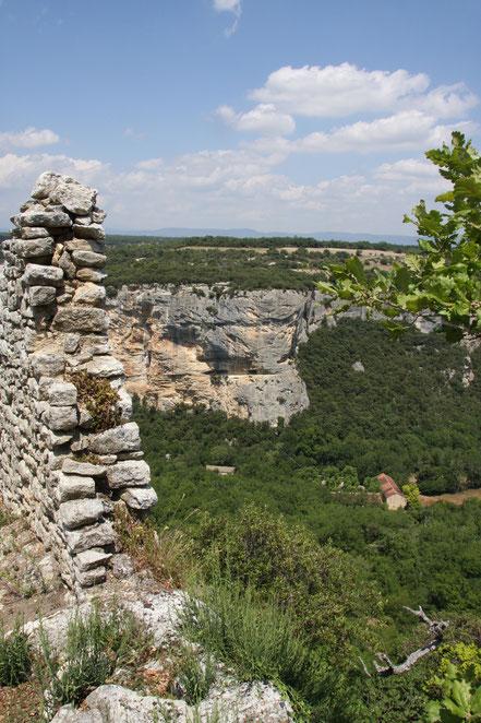 Bild: Hochebene bei Fort de Buoux