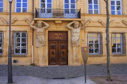 Bild: Hotel Maurel de Pontevès erbaut 1647-1650 in Aix-en-Provence
