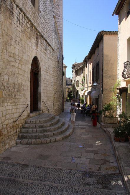 Bild: in den Straßen von St.-Paul de Vence
