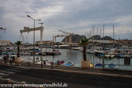 Bild: Hafen von La Ciotat