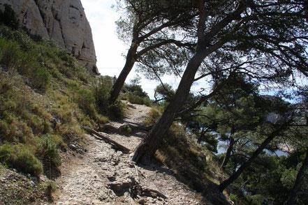 Bild: Wanderweg in der Calanque de Morigou