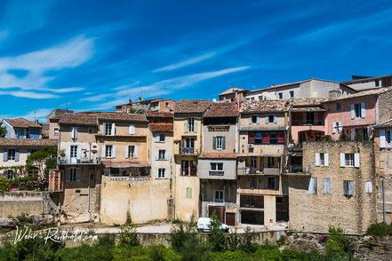 Bild: Blick auf die Unterstadt von Vaison-la-Romaine