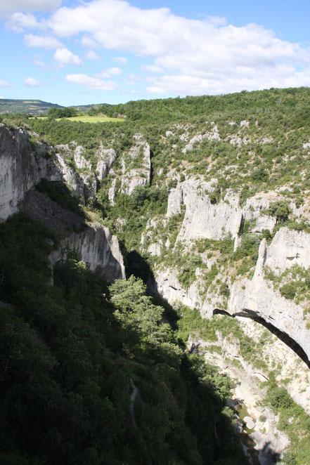 Bild: Gorges d´Oppedette mit Wanderweg