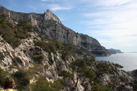 Bild: Wanderweg Calanque de Morgiou
