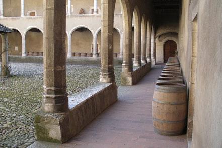 Bild: der dritte Kreuzgang in der Monastère de Brou in Bourg-en-Bresse