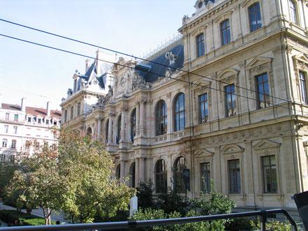 Bild: die Börse in Lyon