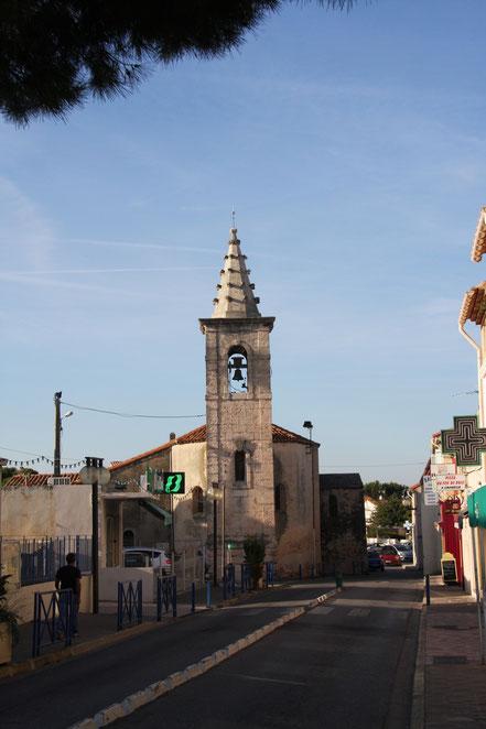 Bild: Kirche in Carro an der Côte Bleue