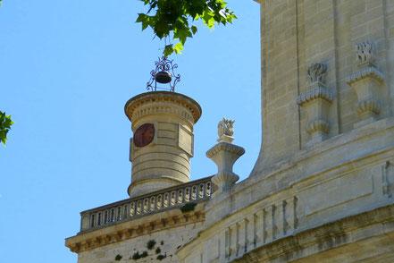 Bild: Glockenturm von Église Saint-Etienne in Uzès